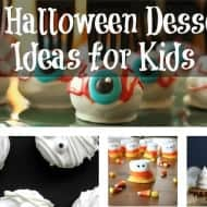 26 Halloween Dessert Ideas Kids Will Love