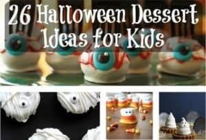 26 Halloween Dessert Ideas for Kids