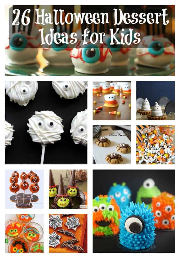 26 Halloween Dessert Ideas for Kids