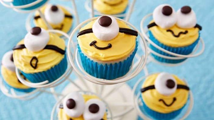 Betty Crocker Minions Cupcakes