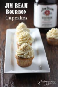 Bourbon Infused Cupcakes