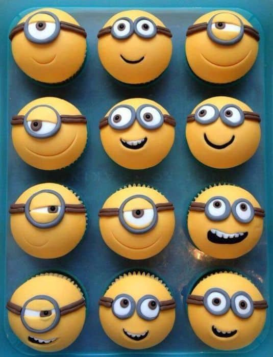 Minions Character Cupcakes