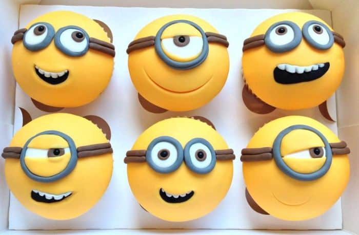 Minions Cup Cakes