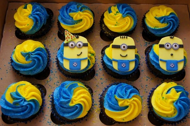 Minions Cupcakes Despicable Me by Cake in a Cup NY