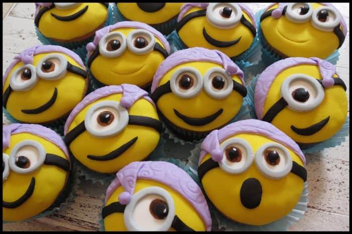 Nightcap Minions Cupcakes