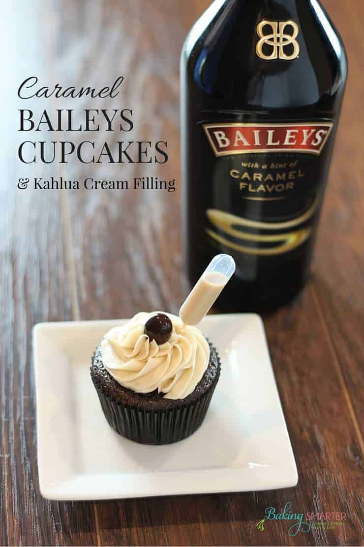 Caramel Baileys Cupcakes Baking Smarter