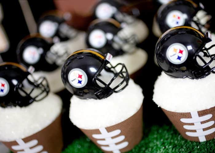 Helmet Cupcakes