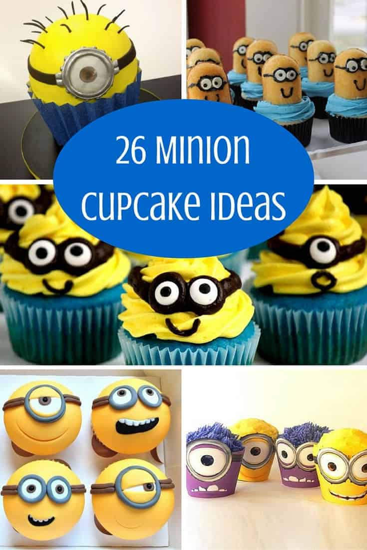 Minion Cupcakes Ideas
