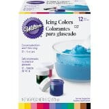 Wilton Icing Colors - Includes Brown