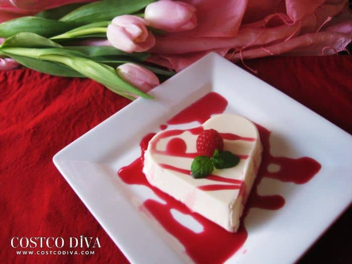 20-Minute Raspberry Panna Cotta