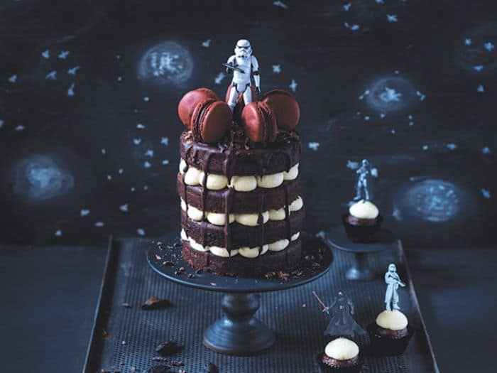 Chocolate Storm Trooper Cake