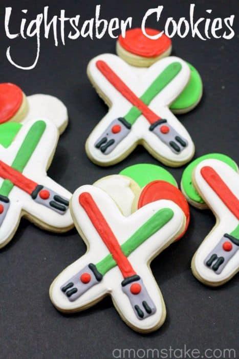 Lightsaber Cookies