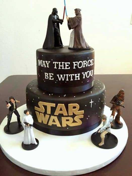 May the Force be with you Cake