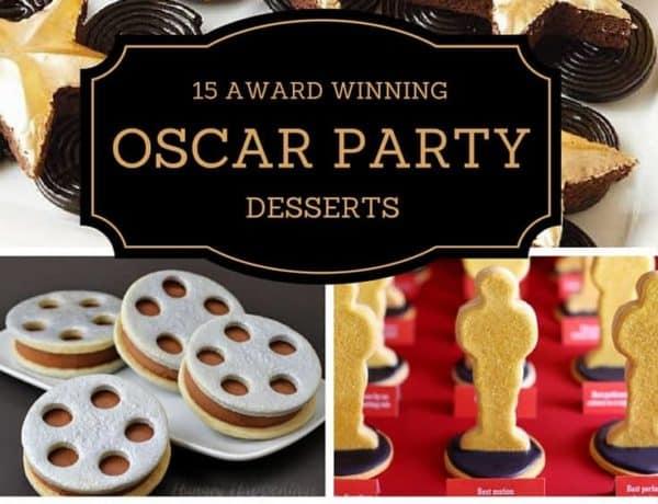 Oscar Party Desserts