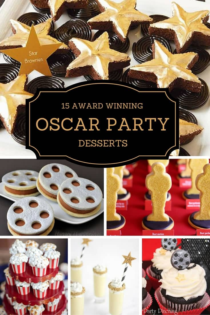 Oscar Party Desserts Baking Smarter