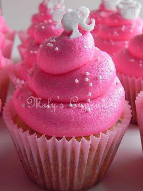 Barbie Pink Cupcakes
