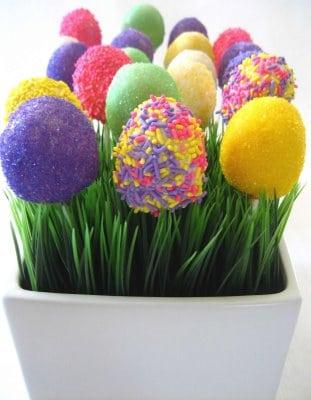 Cherry Bomb Easter Cake Pops