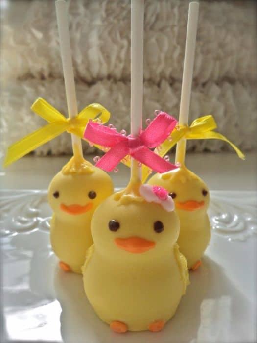 Chickadee Cake Pops