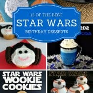 Star Wars Birthday Party Desserts