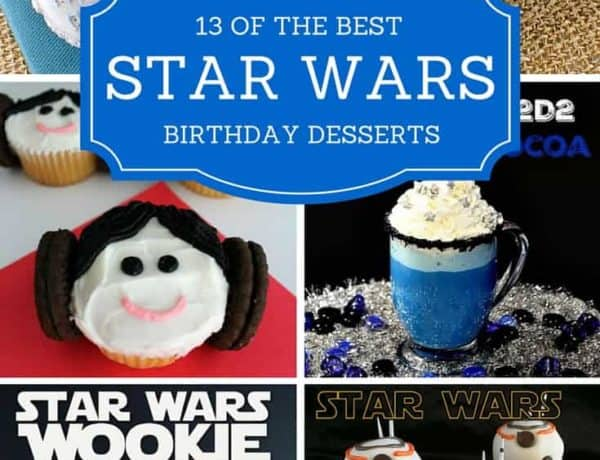 Star Wars Birthday Desserts