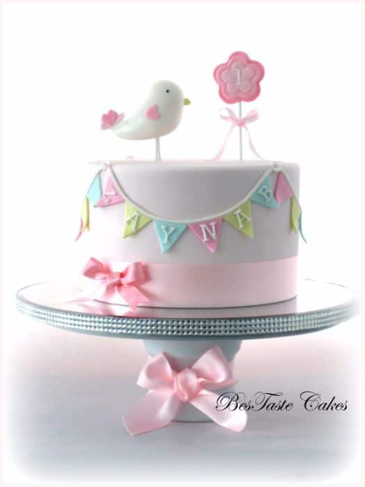 Little Bird Birthday Cake