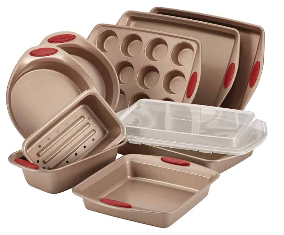 rachel ray 10 pc cucina bakeware set